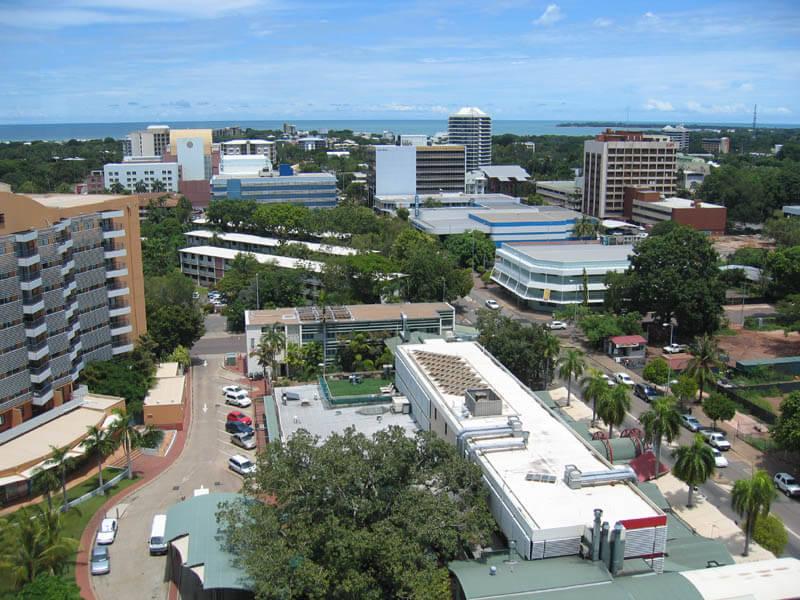 Darwin – la capitale tropicale du Nord de l'Australie, au sommet du Territoire du Nord