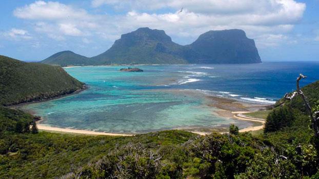 Découvrez L'île Lord Howe à l'est de l'Australie