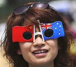 touriste chinoise australie
