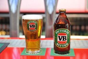 Victoria Bitter biere autralienne