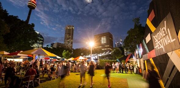 Le Festival de Sydney débute avec une grande réception