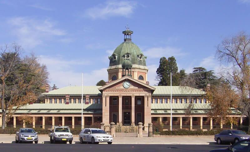 Bathurst, une ville dans la région Centre-Ouest de l'état Australien de Nouvelle-Galles du Sud